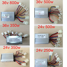 36V/48V 250W/350W Electric Bicycle E-bike Scooter Brushed Motor Controller XQ