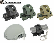 """Tactical 1"""" Mount Torch Quick Release for Fast Helmet Surefire Flashlight Cycle"""