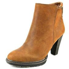 White Mountain Abbot Women  Round Toe Synthetic Brown Ankle Boot NWOB