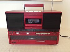 Panasonic SG-J555L 80's Vintage Cassette, Record Player & Radio Music System