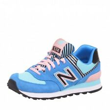 New Balance 574 Classics Traditionnels Runner blue turquoise pink Shoes Trainers
