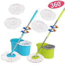 EasyWring Microfiber Spin 2 Dry Mop and Bucket Set Floor Cleaning System