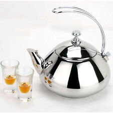 Stainless Steel Teapot Kettle Stainless Steel Kitchenware Coffee Restaurant 7824