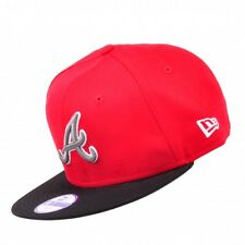 New Era Cap MLB Basic Atlanta Braves 9FIFTY Tricol Baseball Cap Snapback Cap