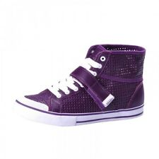 Vans Wellesley Strap Shoes Trainers purple white JX20VF