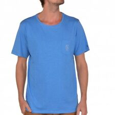 Rip Curl Solid Crew S/S Tee T-Shirt Directoire Blue Marle CTE3HG