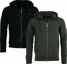 "NEW MENS CRIMINAL DAMAGE HOODY ""Biker"" Full Zip Designer Hoodie Sweatshirt Tshir"
