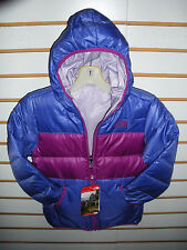 THE NORTH FACE GIRLS REVERSIBLE DOWN MOONDOGGY JACKET- CSB4- S PURPLE - M,L,XL