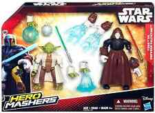 Star Wars: The Force Awakens Hero Mashers Yoda vs Emperor Palpatine Playset