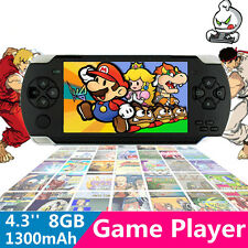 8GB 4.3'' LCD 32bit Li-On Portable Handheld Video Game Console Player MP4 Toys