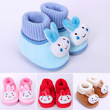 Newborn Baby Boy Girls Pump Knit Ankle Bootie Toddler Prewalkers Prom Crib Shoes