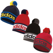 Adidas Golf 2017 Mens ClimaHeat POM Beanie Winter Knit Thermal Bobble Hat