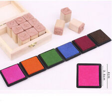 Wholesale 3X Durable Craft Oil Based Ink Pad Print For Stamps Rubber Paper Wood