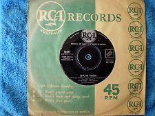 "ELVIS PRESLEY-LOVE ME TENDER/ANYWAY YOU WANT ME ""RARE OZ"" 45 RPM"