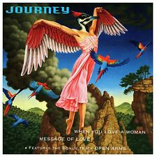 When You Love a Woman/Message of Love [Single] by Journey (Rock) (CD, Oct-1996)