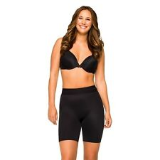 SPANX Love Your Assets Supreme Slimmers Mid-Thigh Shaper 2531 Black M