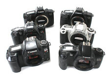 CANON LOT OF SIX EOS FILM BODIES, NON-WORKING/181526