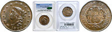 1820 Large Cent PCGS MS-65 BN CAC
