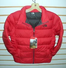 THE NORTH FACE BOYS ANDES DOWN WINTER JACKET -CHQ6- TNF RED - XS, S, M, L, XL