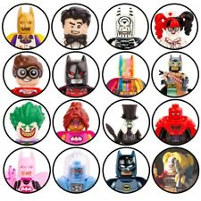 DC Superhero Custom Minifigure Wonder Woman*Harley Quinn*Joker*Lego Batman Movie
