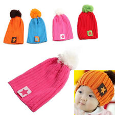 Winter Toddler Children Boys Girls Hat Warm Baby Infant Accessories New 1pcs Cap