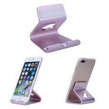 Aluminum Desktop Station Mount Phone Dock Cradle Holder for iPhone 6 for Samsung