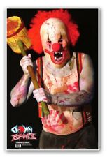 """Clown Zombie Paper Shooting Targets - 25""""x38"""""""