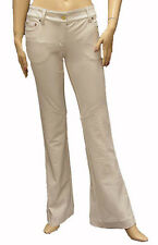 HTF $850 Roberto Cavalli Womens Pants Trousers White Size 40 Ladies NWT 822