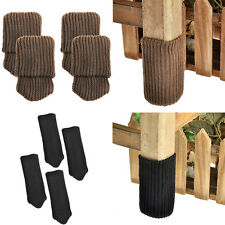4pcs Table Chair Foot Leg Knit Cover Protector Socks Sleeve Protect Floor