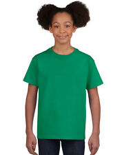 NEW BLANK PLAIN TSHIRT - Youth Green - 100% cotton - Size L, XL