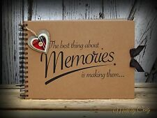 Scrapbook, A5 A4 Best Memories, Photo Album, Keepsake, Christmas Gift Idea