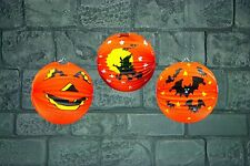 25cm PAPER LANTERNS HALLOWEEN Pack of 2