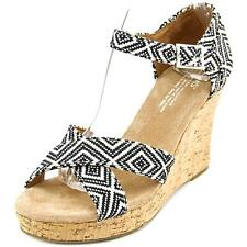 Toms Strappy Wedge Wedge Sandal Women 5264