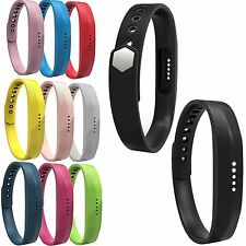 Silicone Sport Watch Band Wrist Strap Wristband For Fitbit Flex 2 Tracker Large