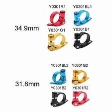 Bicycle Road MTB Bike Seat Post Clamp Seatpost Clamp Quick Release 31.8mm P0T1