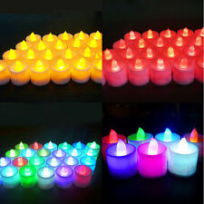 LED Candle Flameless Flickering Tea Light Battery Candle Wedding Xmas Decor Hot