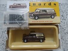 MINT BOXED VANGUARDS AUSTIN SEVEN MINI VAN DEWHURST THE BUTCHER DIECAST MODEL