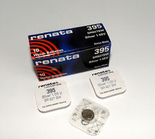 Renata Single Watch Battery Swiss Made 395 Or SR927SW Or AG7 1.5 V Fast Ship