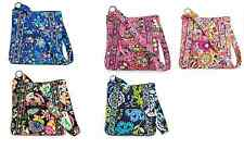 Vera Bradley Disney Hipster Pink Blue Black Handbag Purse Mickey Minnie New