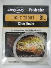 Airflo Light Trout Poly Leader, Clear, 8ft.