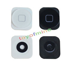 White Black Home Menu Button Key Replacement Part For iPhone 5 SE 5G Return