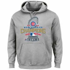 Chicago Cubs Majestic Men's 2016 World Series Champions Locker Room Hoodie
