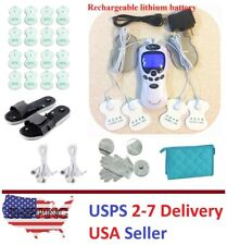 TENS Unit Rechargeable TENS Massager Digital Therapy Acupuncture Machine VII