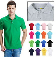 Polo Tee Casual Men's Sports T Shirt Cotton Slim Fit Hot Short Sleeve T Shirt