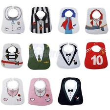 Baby Infant Toddler Boys Girls Feeding Bibs Saliva Towel Party Dress up Costume