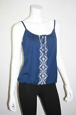 NEW OLD NAVY WOMENS EMBROIDERED BUBBLE KNIT CAMI TANK TOP SIZE  XS, M, L, XL