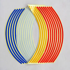 Bicycle Bike Reflective Wheel Rim Decal Stripes Stickers Motorcycle Car Rim Tape