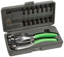 XtremepowerUS Hand Held Power Punch, Sheet Metal Hole Punch Kit