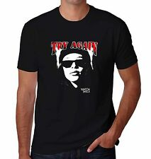 Aaliyah Try Again Top Shirt Black T-Shirt RIP Tribute Series Size S-5XL
