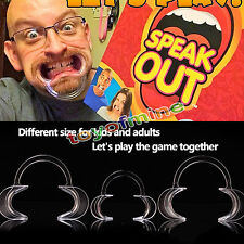 Replacement Mouthpieces For Speak Out Board Party Game Watch Mouth Challenge